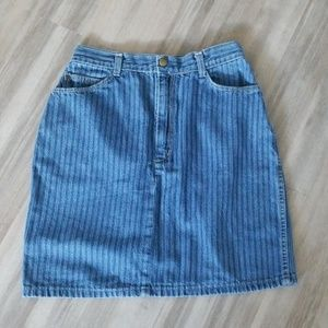 Candie's Blue Jeans Mini Skirt Small